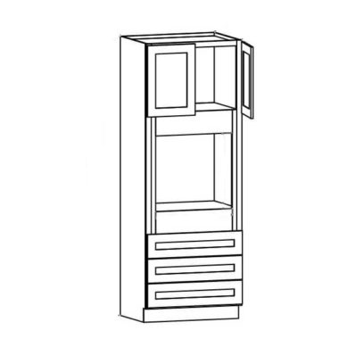 """O338424 - Oven Cabinet - 84""""H"""