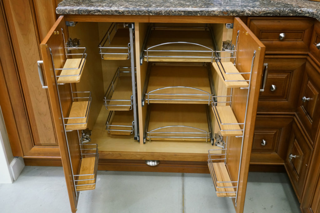 kitchen cabinet door storage