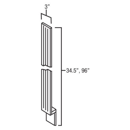 TFF396 - Tall Fluted Filler