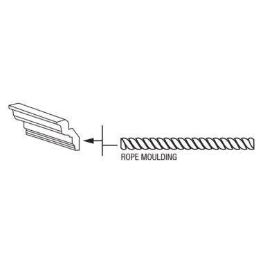 ROPE8 - Rope Moulding