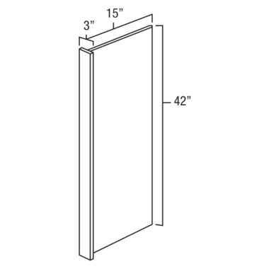 WEP1542 - Wall End Panel