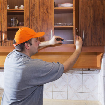 diy kitchen cabinet,