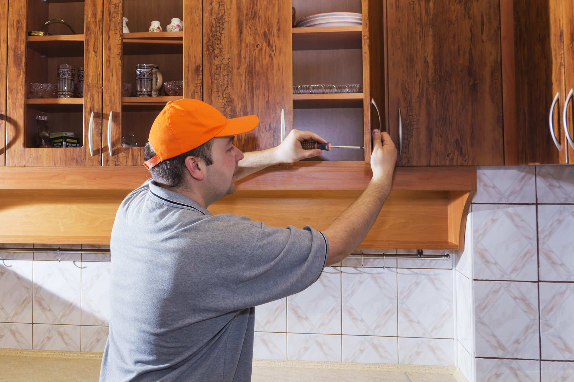 10 Incredible DIY Kitchen Cabinet Makeover Ideas