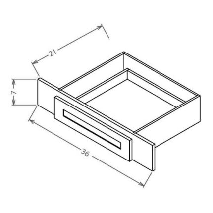 "VKD36 - Knee Drawer - 36""W"
